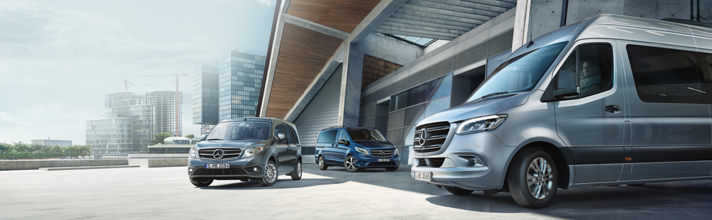 Mercedes-Benz Citan, Vito, Sprinter